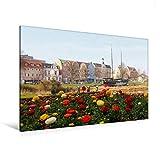 Premium Textil-Leinwand 120 x 80 cm Quer-Format Cuxhaven an