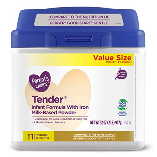 Parent's Choice Tender Baby Formula (easily digested) 32 oz.