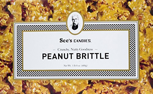 Our #2 Pick is the See's Candies Peanut Brittle