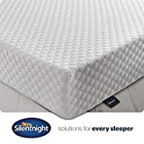 Silentnight 7 Zone <span class='highlight'>Memory</span> <span class='highlight'>Foam</span> Rolled <span class='highlight'>Mattress</span>, Made in the UK, Medium Firm, Euro Single