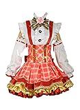 Love Live Yazawa Nico Bouquet Flowers Awakening Plaid Skirt Red
