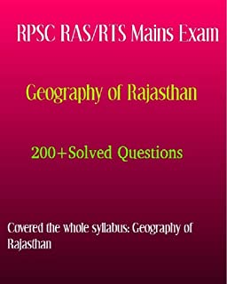 RPSC RAS Mains Exam Solved Questions: Geography of Rajasthan