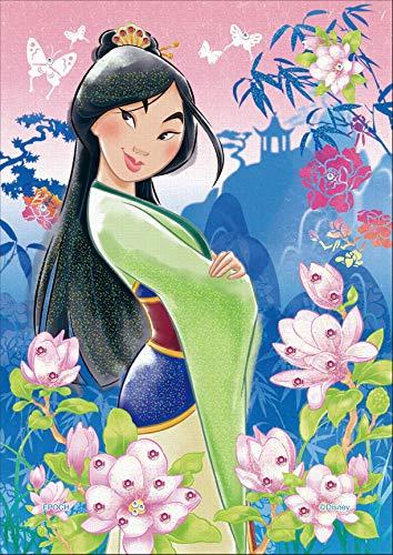 108ピース ジグソーパズル ディズニー パズルデコレーション Mulan(ムーラン)-strong heart- (18.2x25.7cm)