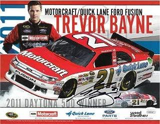 Trevor Bayne Autographed Signed Memorabilia Nascar 2011 Daytona 500 Winner 8.5X11 Photo #21 - JSA Authentic