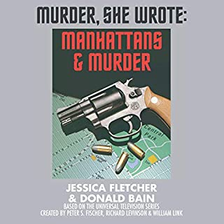 Manhattans and Murder audiobook cover art