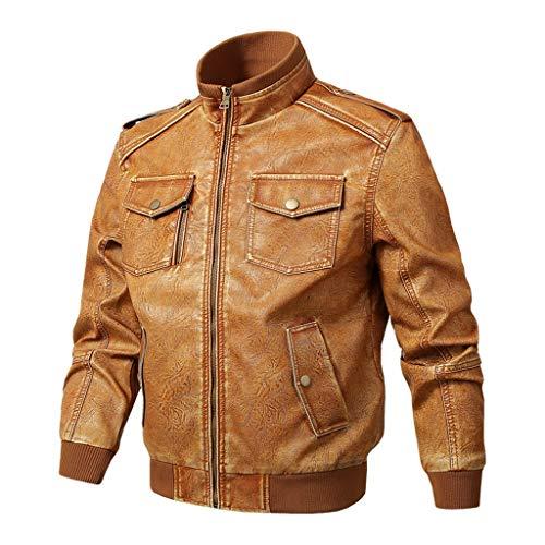 Bench Leather Jacket Men