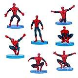 Figuras decorativas para tarta de Spiderman, adornos de Spiderman,...