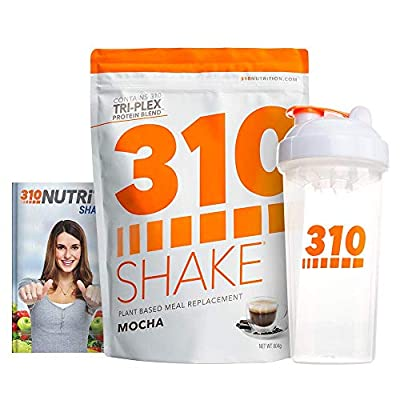 Meal Replacement | 310 Shake Protein Powder is Gluten and Dairy free, Soy Protein and Sugar Free | Includes 310 Shaker and Free Recipe eBook | 28 Servings