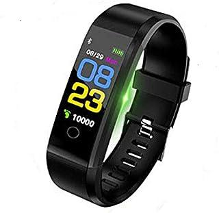 NBSXR Smart Watch Fitness Tracker, IP68 a Prueba de Agua, con Monitor de frecuencia cardíaca, Monitor de sueño, Compatible con iPhone y Android, para Mujeres, Hombres y niños