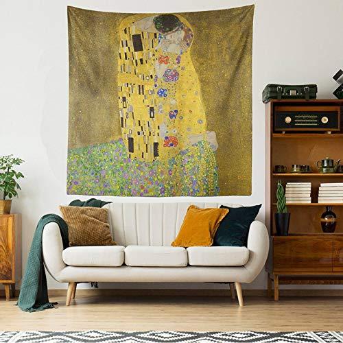 Gustav Klimt - Tapiz de pared para colgar en la sala de estar, dormitorio, dormitorio