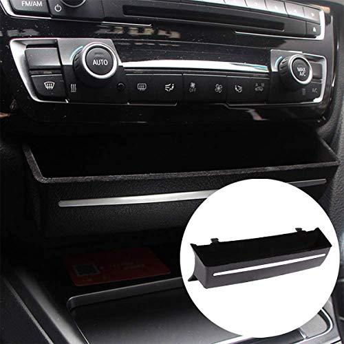 DIYUCAR Caja organizadora del coche para 3 4 series F30 F34 GT ABS consola central almacenamiento automóvil reemplazar el tablero delantero Accesorios