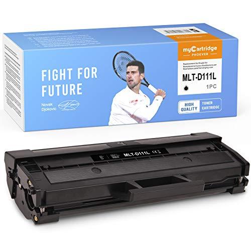 MyCartridge PHOEVER D111L - Tóner negro compatible con Samsung MLT-D111L MLT-D111S para Samsung Xpress SL-M2070W M2026W M2070 M2026 M2070FW M2020 M2022W M2020W M2022 (negro)