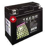 YT12B-4 TECNO GEL-Batterie für YZF-R1 1000 Baujahr 1998-2003