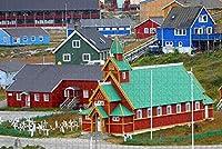ゲートウェイアーチオールドコートハウスセントルイスUSAジグソーパズル大人用1000ピース木製トラベルギフトお土産-Pt-04902