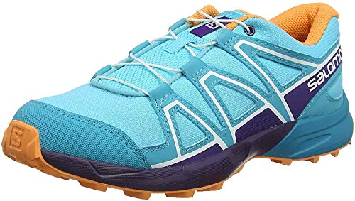Salomon Speedcross J, Zapatillas de Trail Running Unisex Niños, Azul (Blue Curacao/Acai/Bird of Paradise), 38 EU