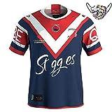 T-Shirt rétro d'uniforme de Rugby Sportif, Lapins Le Coq, Maillot de Rugby à Domicile pour Homme, Maillot d'entraînement brodé Sweat-Shirt Respirant à séchage Rapide classique-rabbit2-2XL