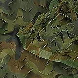 KEANCH Red de Camuflaje de Oxford, Jungle Camuflaje Net Camping Shade Net, para Expansión Al Aire Libre Net Tent Theme Party Lugar Grande(Size:2mx3m)