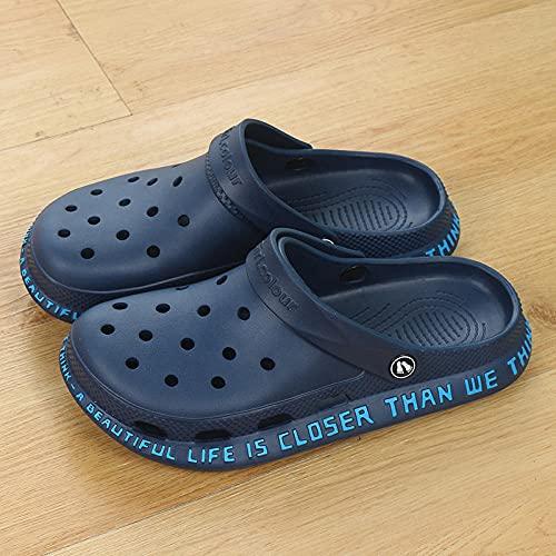 COQUI Zuecos Hombre,NUEVOS NUEVOS Zapatos DE Agujeros DE NIÑOS NIÑOS NIÑOS Fuerza SUAJE EVA Over Muchachas Sandalias Infantiles de Playa-Azul Profundo 1_38