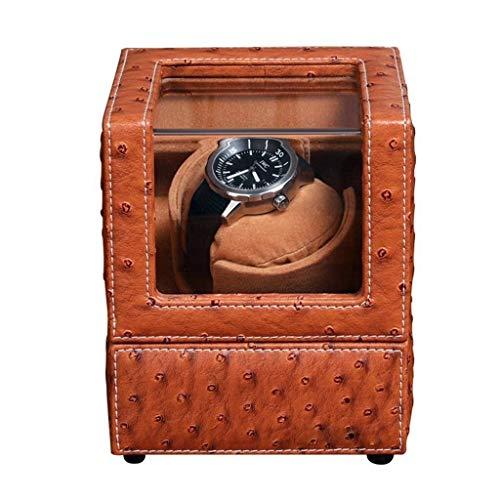 Minador de relojes Winder Winder Winder Bobinador automático Ultra silencioso Highend Watch Watch Box Table Shaker Rotation Motor Caja de motor Single Head Mecánica Visualización Decorativos Relojes C