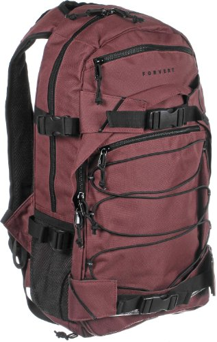 Forvert Laptop Louis 27 L Rucksack Burgundy