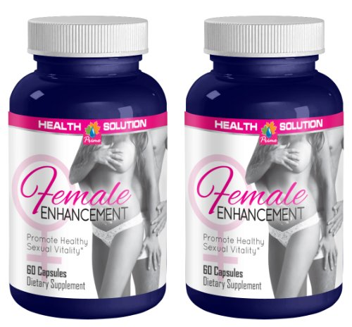 Sexual Enhancement Pills - Female Enhancement 1560MG - Promote Healthy Sexual Vitality - Horny Goat Weed Bulk - 2 Bottles (120 Capsules)