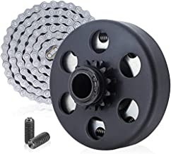 Centrifugal Clutch 3/4 Bore 12T for #35 Chain Compatible for Go Kart Minibike Lawnmower Fun Kart Engine 3/4 Bar Fits for GX160, GX200, GX 140