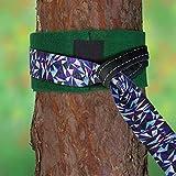 ALPIDEX Slackline Set 15 m + Baumschutz und Ratschenschutz, geeignet für Kinder, Anfänger und Fortgeschrittene - 6