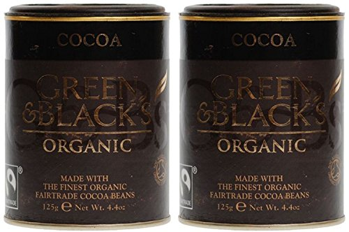 (2 Pack) - Green & Blacks - Organic Cocoa Powder | 125g | 2 PACK BUNDLE
