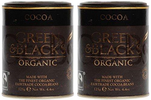 (2 Pack) - Green & Blacks - Organic Cocoa Powder | 125g | 2 PACK BUNDLE