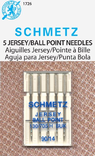 Schmetz Ball Point Jersey Machine Needles-Size 14/90 5/Pkg