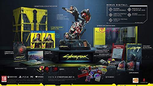 BANDAI NAMCO Entertainment Cyberpunk 2077 Collector's Edition vídeo - Juego (PC, RPG (juego de rol))