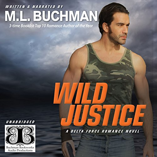 Wild Justice (Delta Force Book 3) audiobook cover art