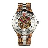 Wooden Watch Relojes Mecánicos De Madera para Hombre Relojes Automáticos Impermeables De Primeras Marcas