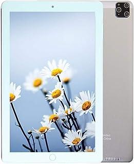 C idea Cm3000+ 10 inch Tablet,Face Unlock,Dual Sim,Quad Core,4GB Ram,64GB,Wifi,4G Lite (Silver)+Power Bank