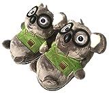 Cute Animal Slippers Women,Winter Warm Koala bedroom slippers,cartoon cotton shoes Indoor (Koala)