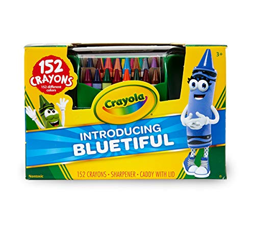Crayola Ultimate Crayon Case, 152 Count, Coloring Tools, Gift for Kids