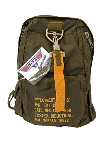 SBB - Para Bag 6 - Mochila, diseño de paracaidista, con mosquetón de desenganche rápido