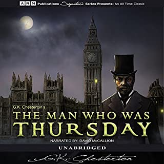 The Man Who Was Thursday cover art