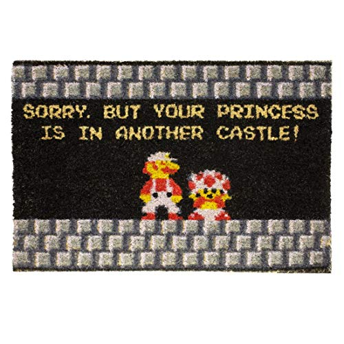 Super Mario Brothers welcome mat gift idea