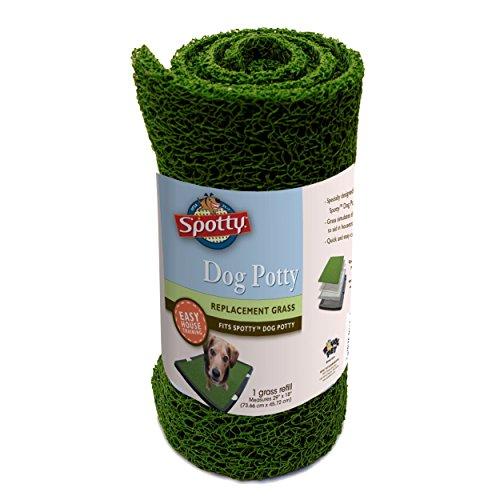 Spotty Indoor Potty Replacement Pad, House Training Pet Puppy Dog Artificial Grass Rug Turf Pee Mat