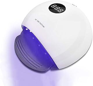 ネイル光線療法機 ネイルドライヤー - ネイルランプ36W / 48Wデュアル光源LED / UVドライヤーすべてのベーキングプラスチックネイルグルー用インテリジェントタイミング