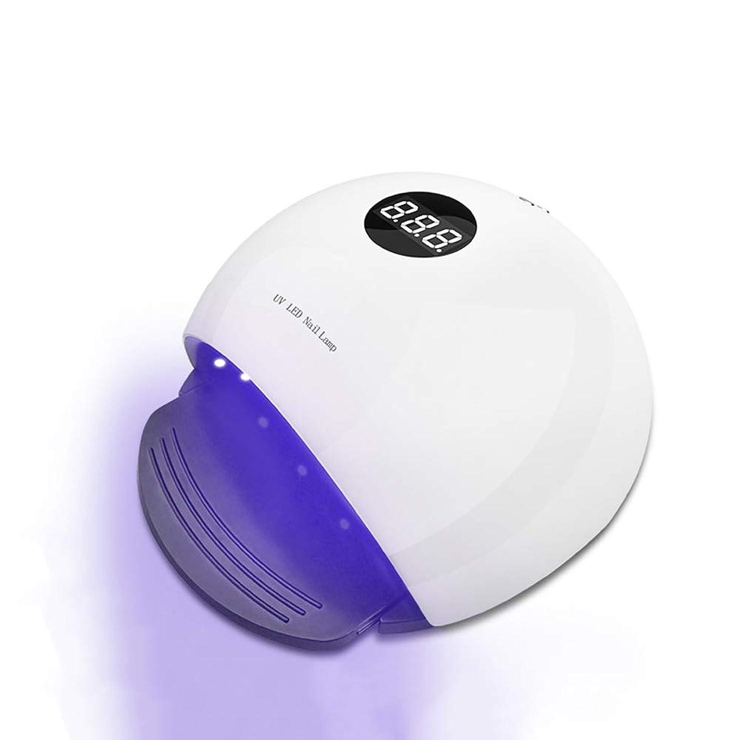 マラソンコミュニケーション実証するネイル光線療法機 ネイルドライヤー - ネイルランプ36W / 48Wデュアル光源LED / UVドライヤーすべてのベーキングプラスチックネイルグルー用インテリジェントタイミング