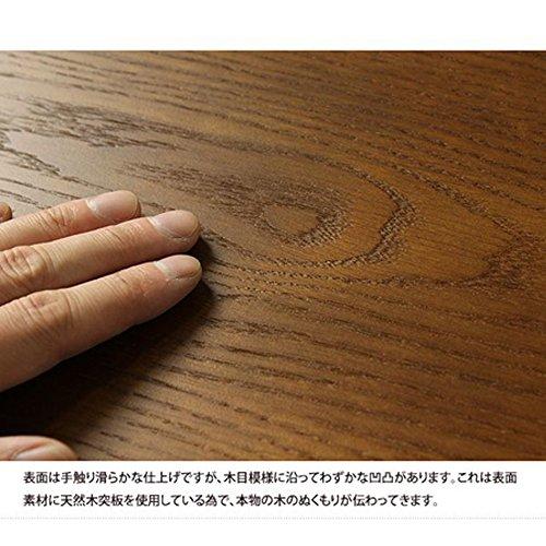 岩附(IWATSUKI)  折りたたみ  ローテーブル  ブラウン IW-309
