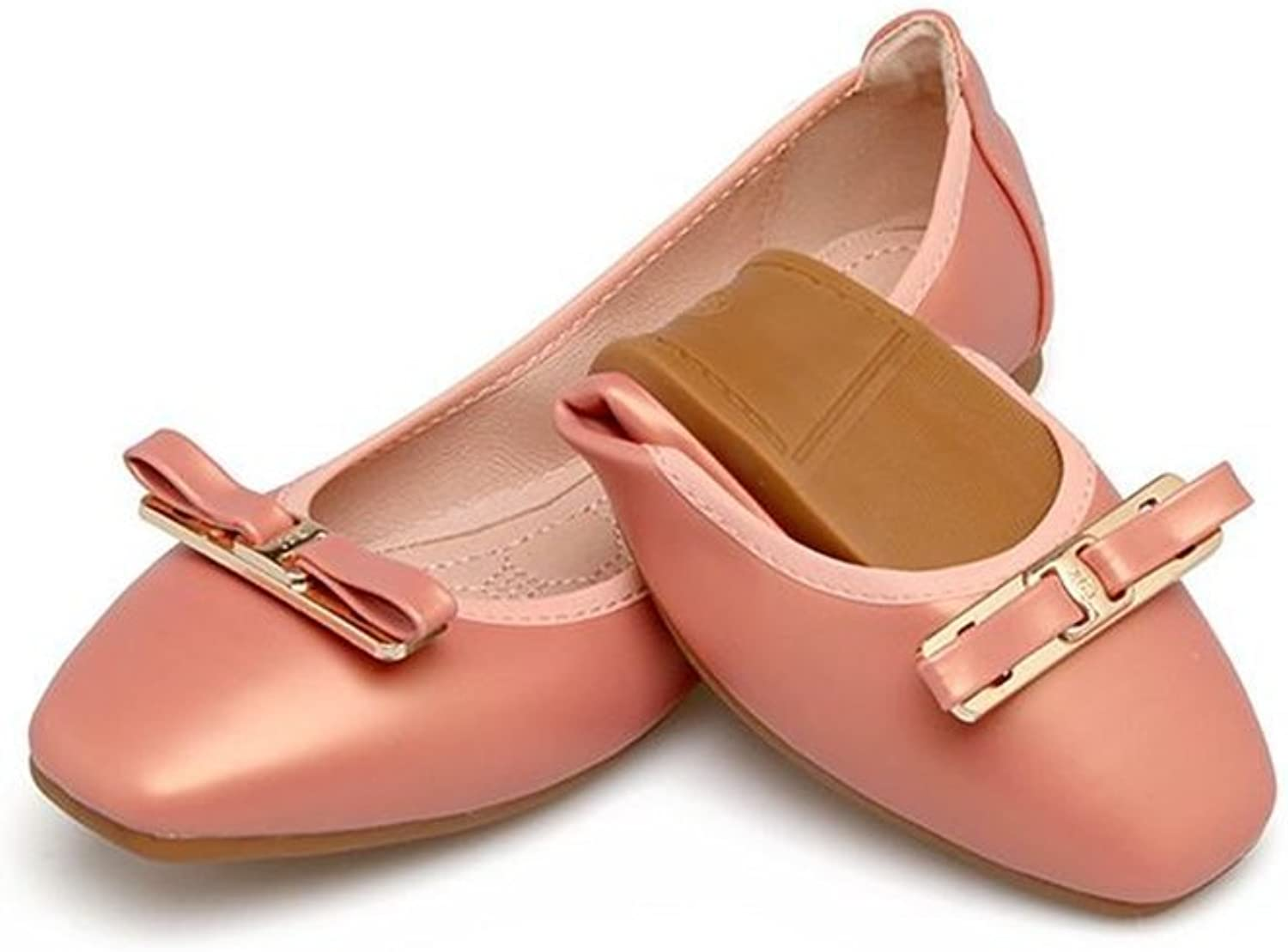 Women's Flodable Ballerina Walking Casual Flats shoes