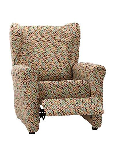 Martina Home Funda sillón Elástica Relax Kilim - Tela - Multicolor - medida ancho de 70 a 100 cm
