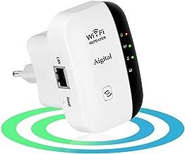[New] Repetidor WiFi inalámbrico,Velocidad 300Mbps Extensor de Red wifi (Botón WPS, modo AP y Repeater, Fácil de configurar, Compatible con Router y Fibra, 1 Puerto 10/100 mbps, antenas internas)