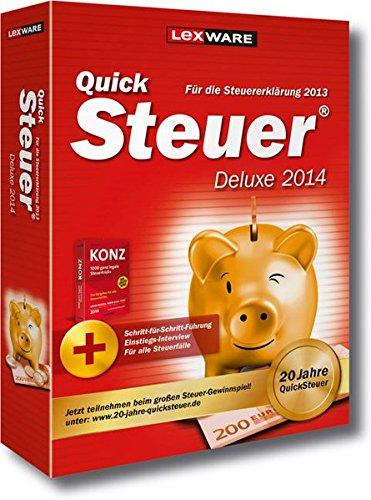 Preisvergleich Produktbild QuickSteuer Deluxe 2014 (für Steuerjahr 2013)