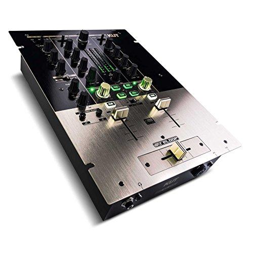 Reloop KUT - Mixeur numérique 2 canaux pour DJ Scratch/Battle avec innoFader, Interface Audio USB,...