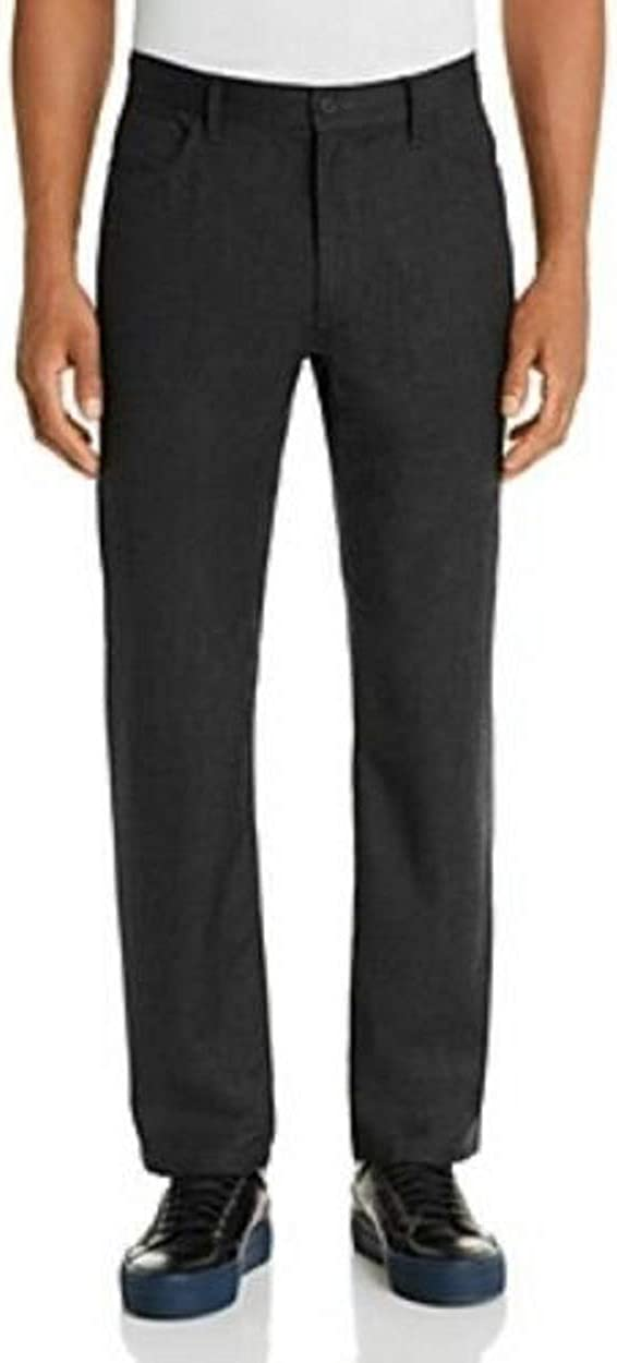 Bloomingdale's Oklahoma Houston Mall City Mall Charcoal Five-Pocket Wool-Blend Classic Fit Pants