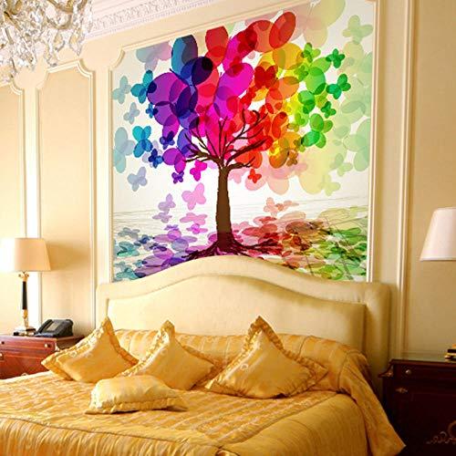 WAFJJ 3D Murales Papel Pintado Rosa y árbol de flores Pared Calcomanías Decoraciones Fondo Del Sofá De La Sala De Estar Del Paisaje De Los Árboles De Coco Niños Dormit Tamaño:W250XH175 CM